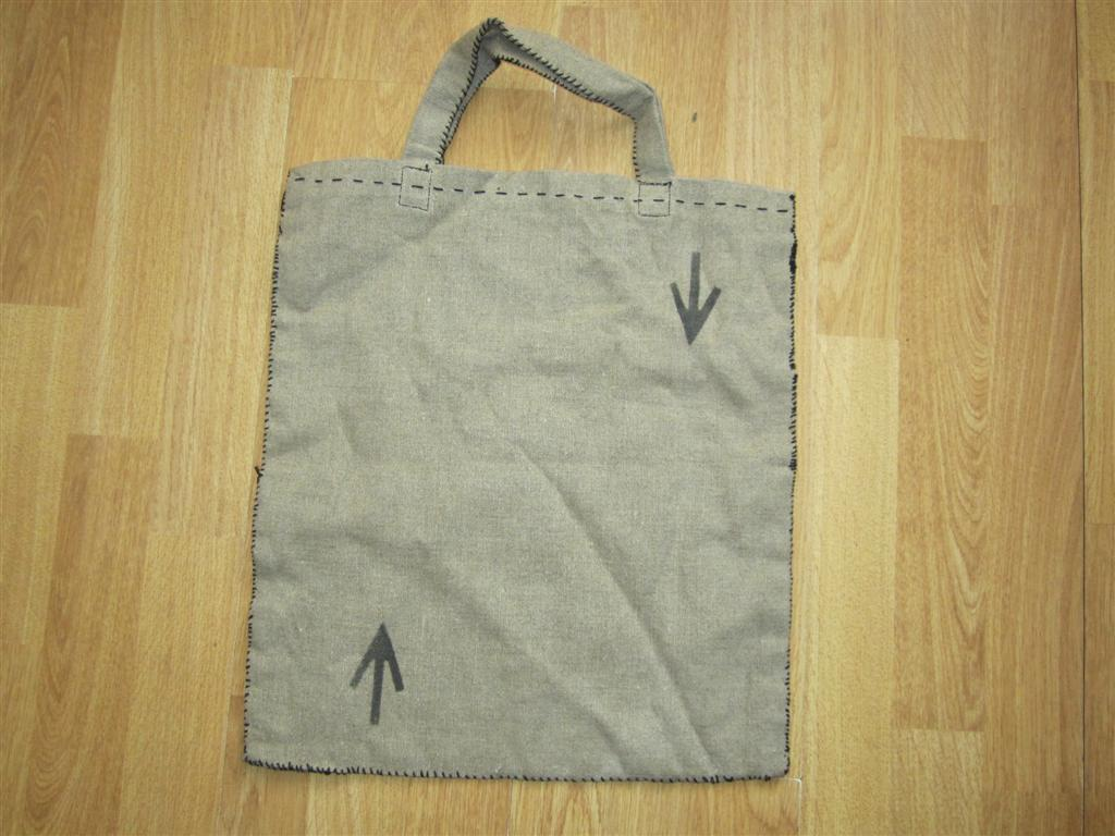 WW2 POW Personal Belongings Bag