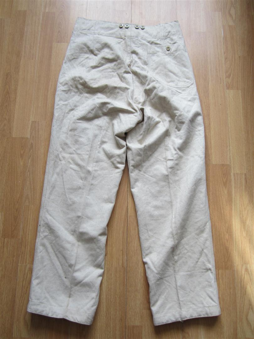 WW2 German Luftwaffe Work Trousers