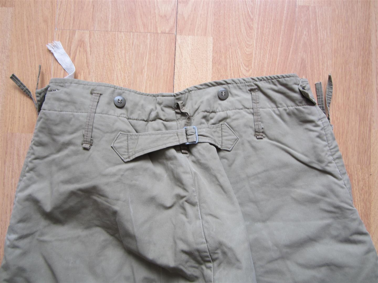 U.S. WW2 Winter Padded Trousers