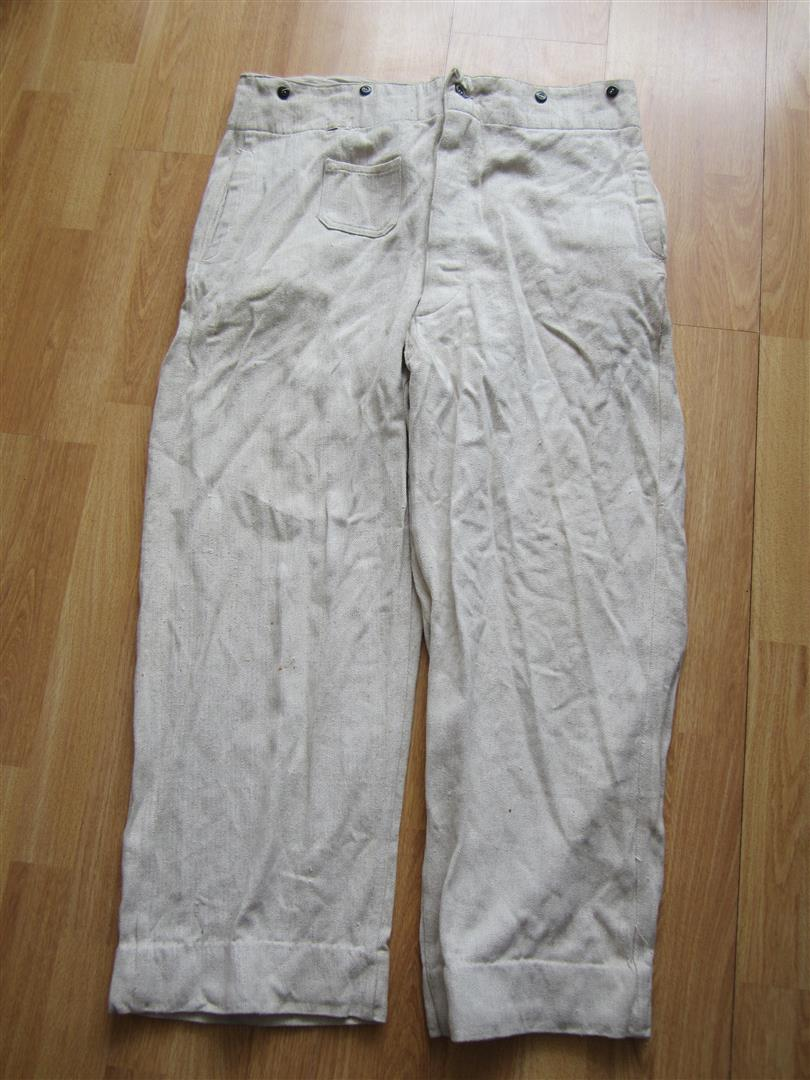 WW2 German Kriegsmarine Work Trousers