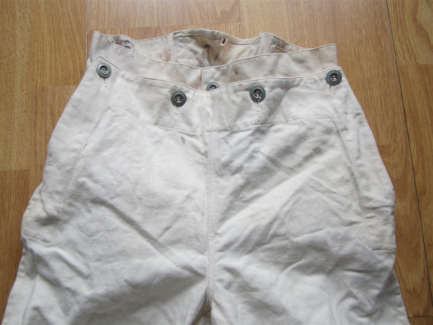 WW2 Adolf Hitler Schule Denim Trousers