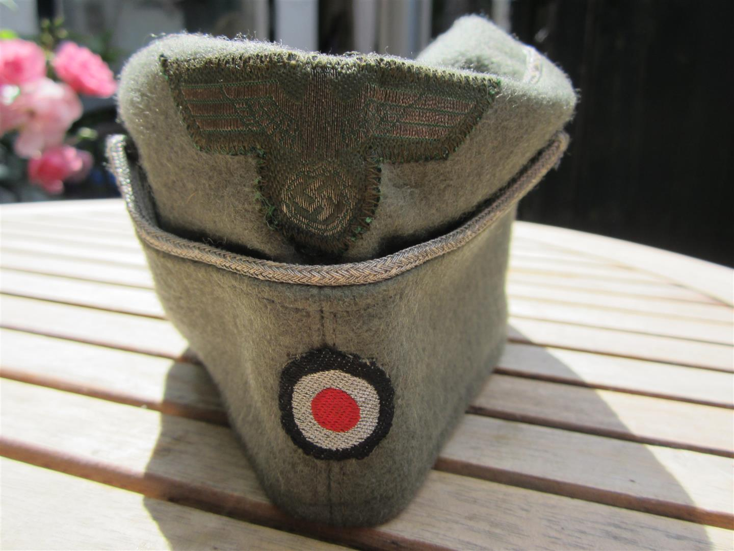 WW2 German WH Officer's Side Cap