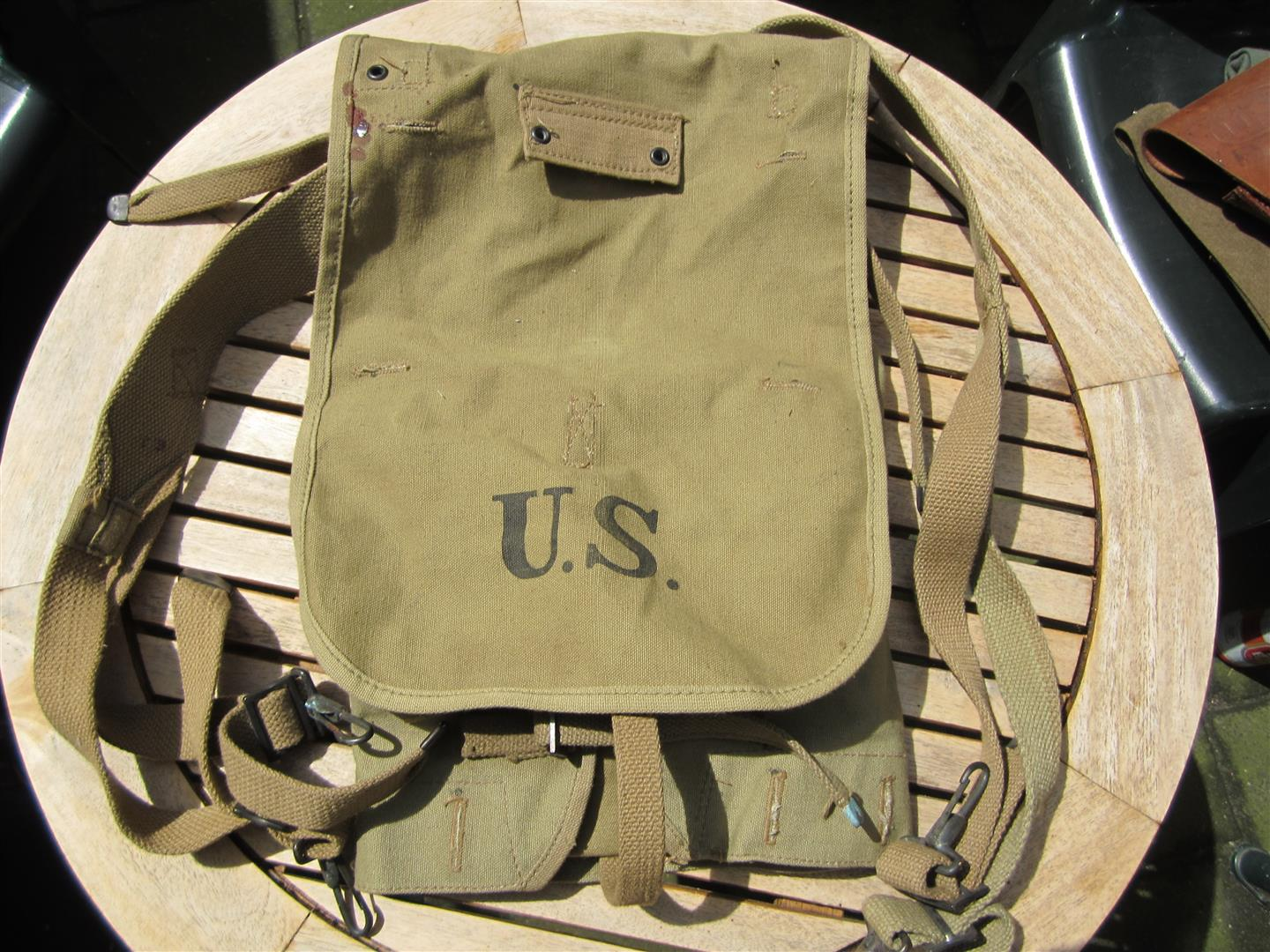 WW1 U.S. 'Doughboy's' Back Pack