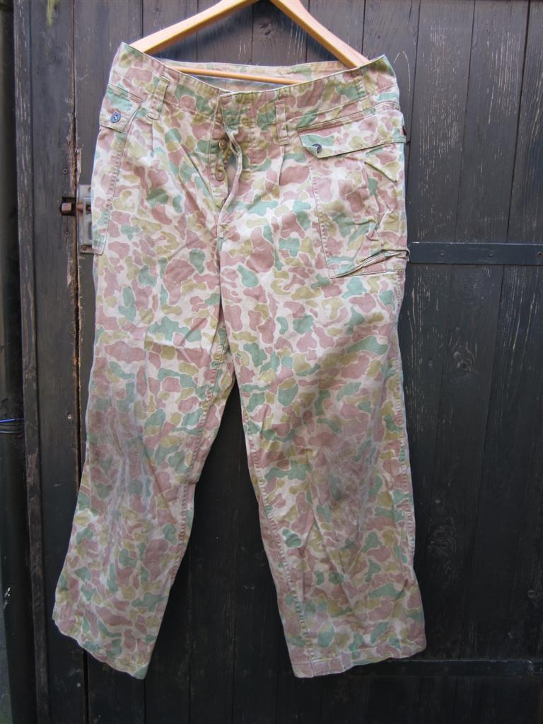 WW2 U.S.M.C. Camo Trousers