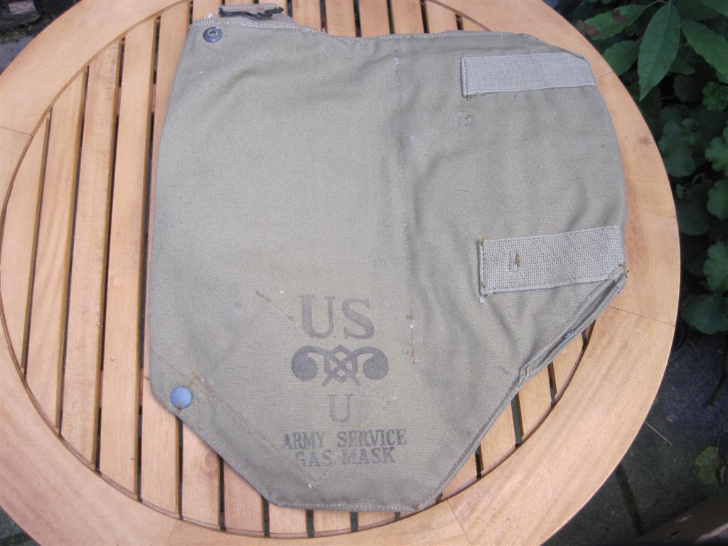 WW2 U.S. Gasmask Bag