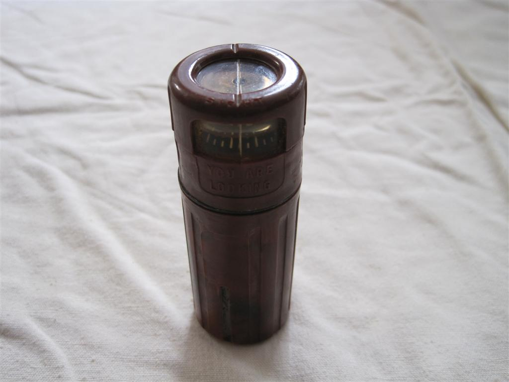 WW2 U.S. Paratroopers Compass / Match Container