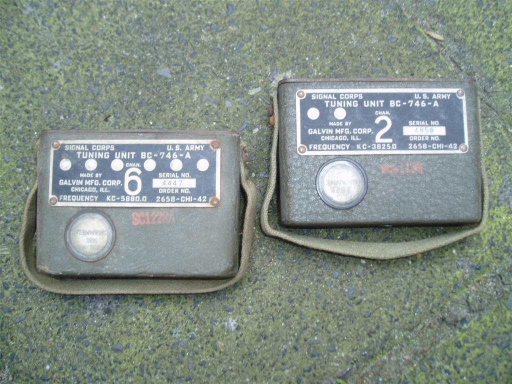 U.S. WW2 Radio Tuning Unit