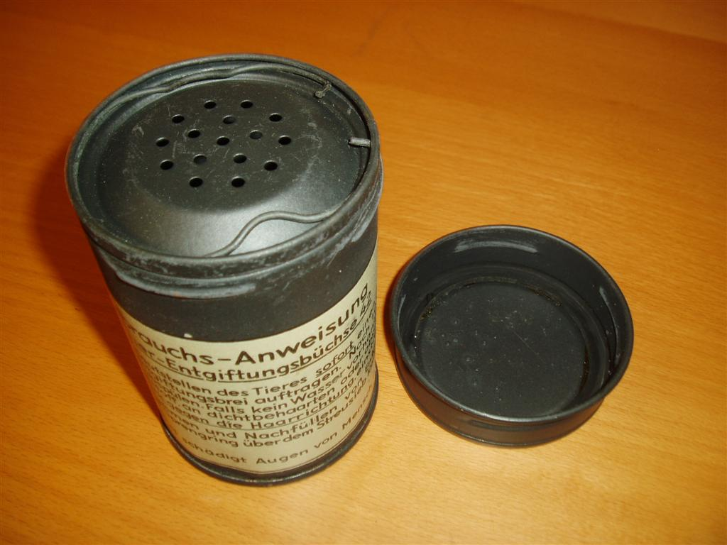 Anti Gas Powder Tin