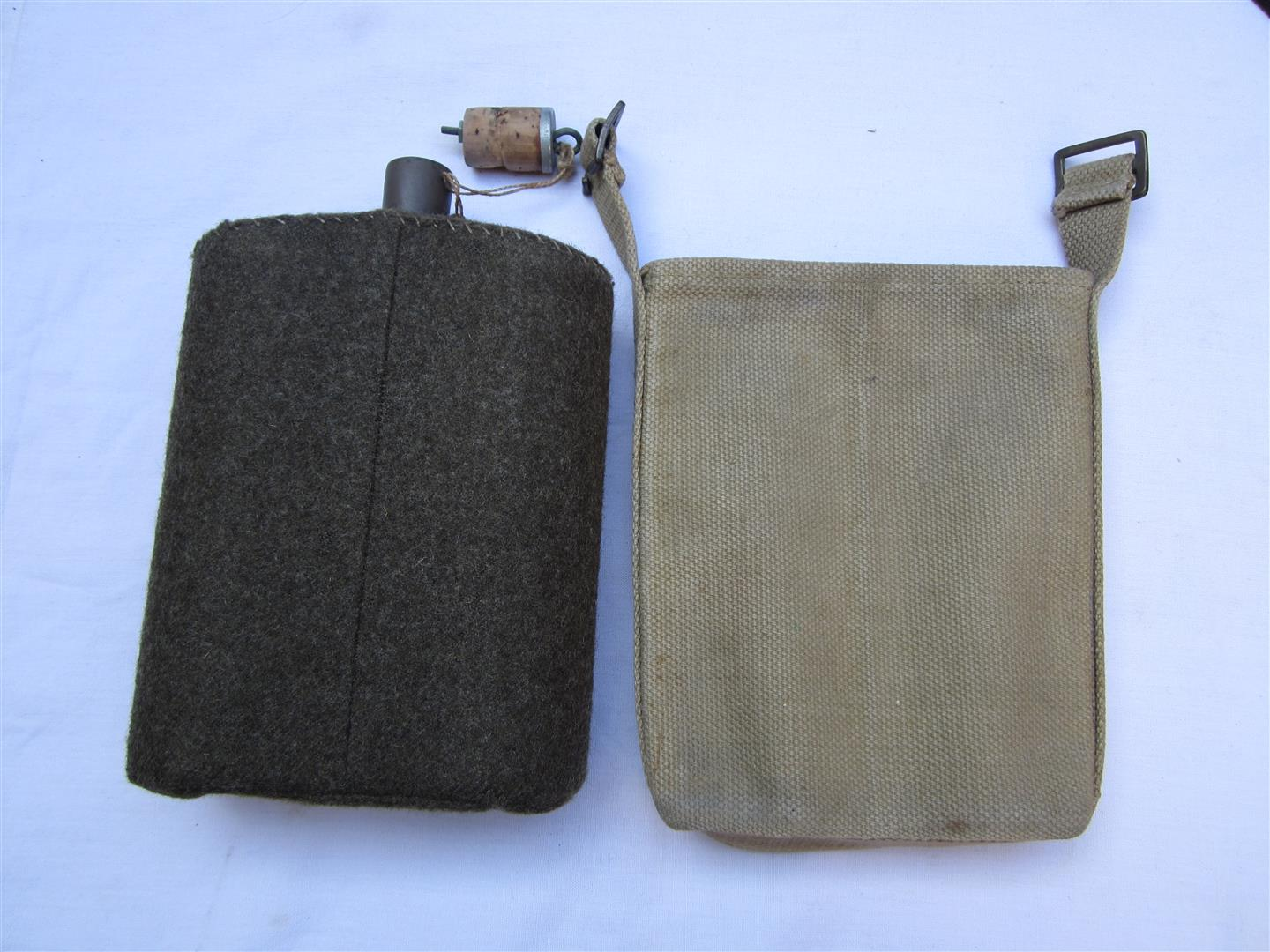 WW2 British Field Bottle & Cover