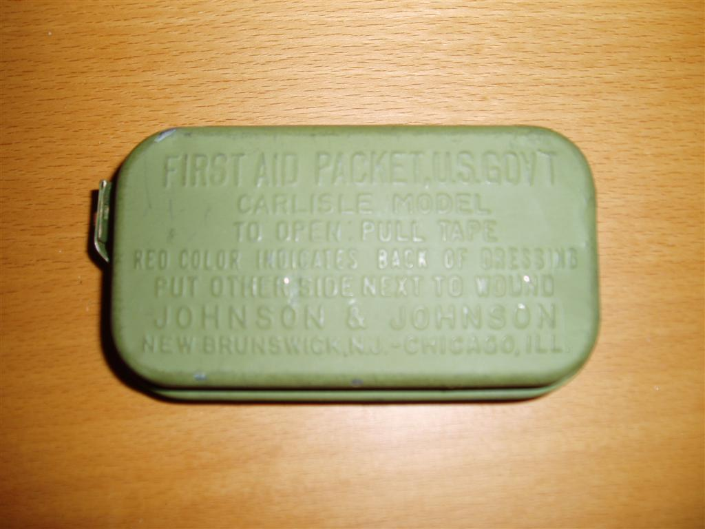 US First Aid Tin
