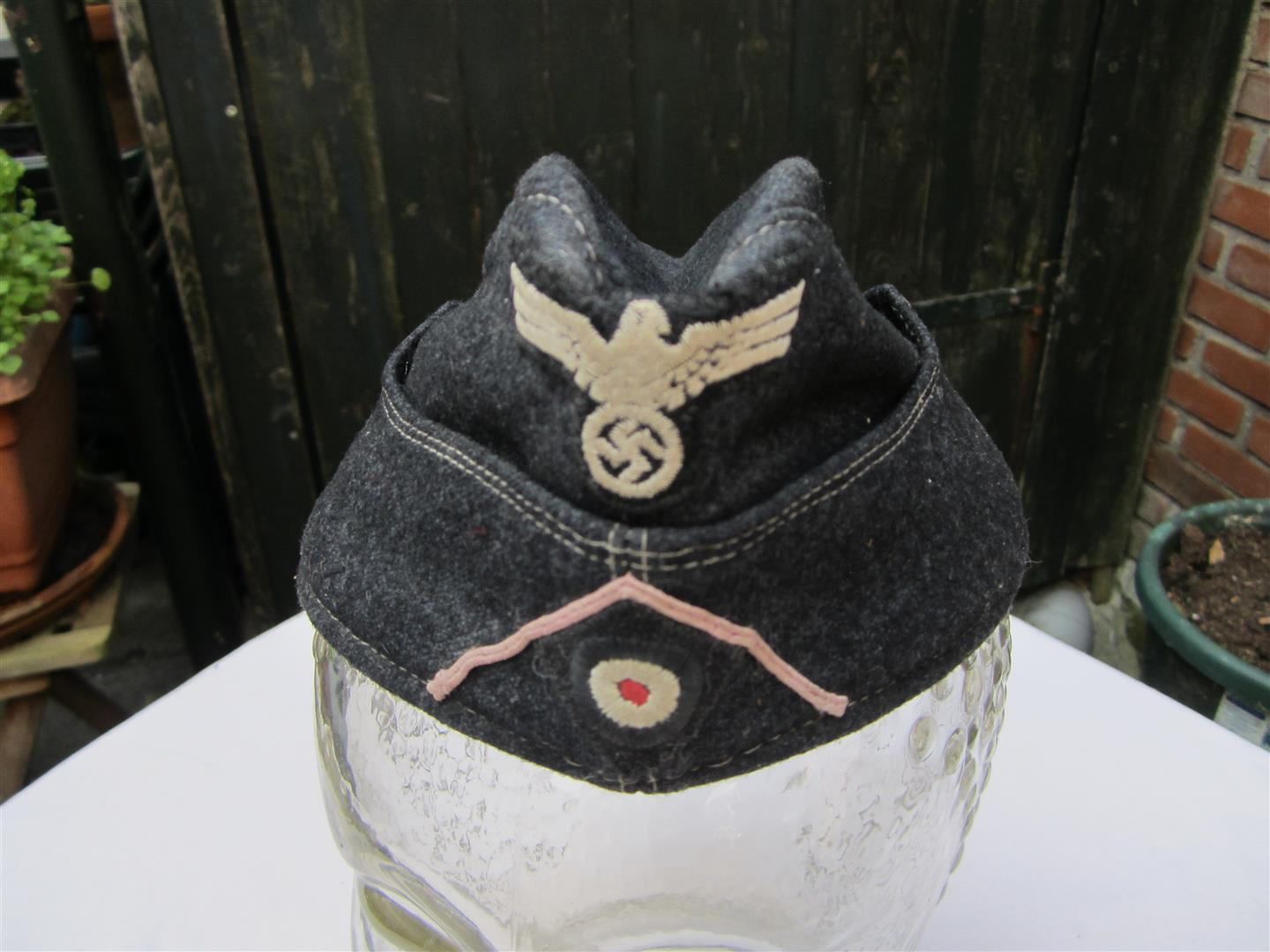 WW2 German WH Panzer Side Cap