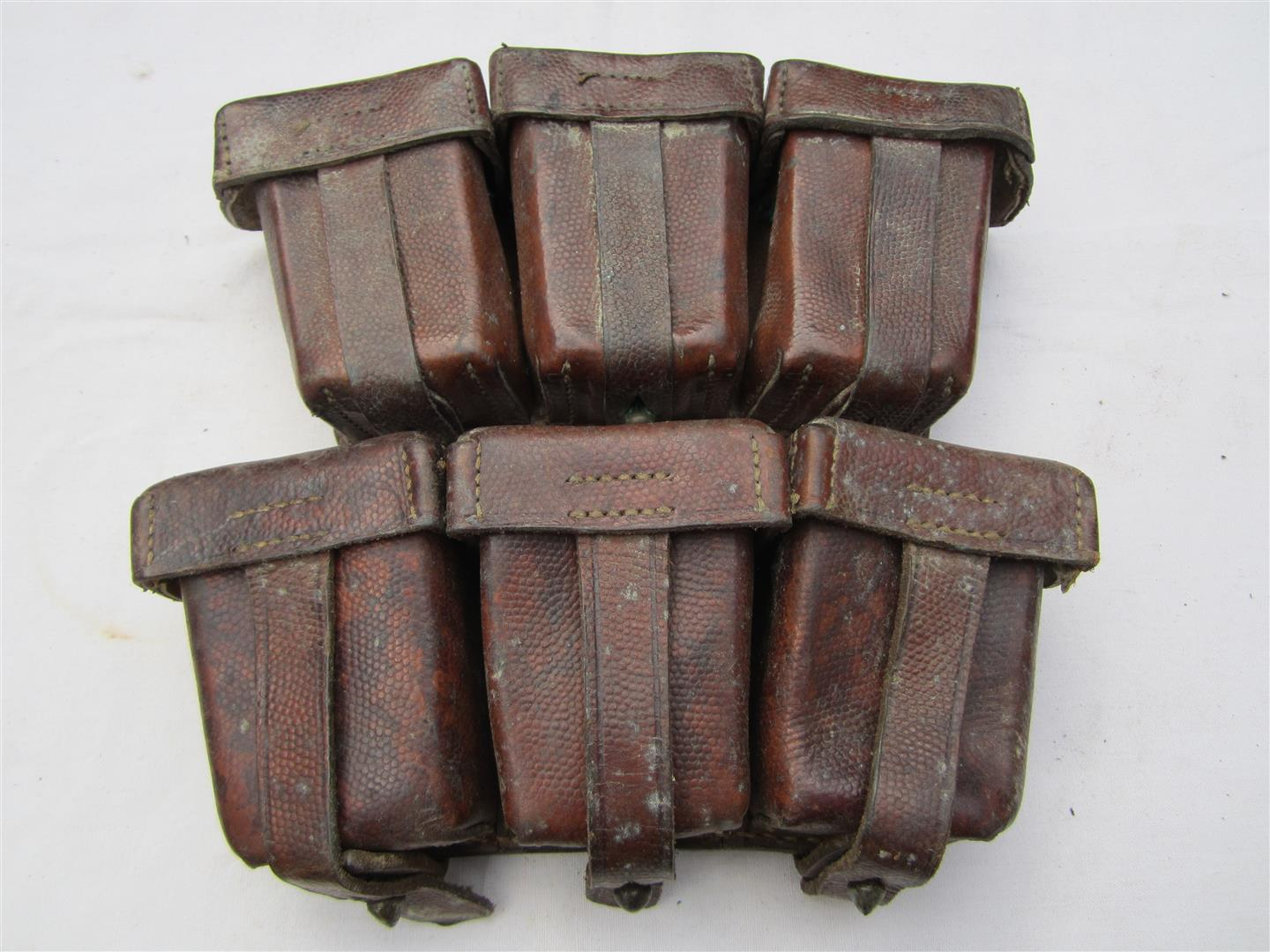 WW1 German Mauser 98 Ammo Pouches