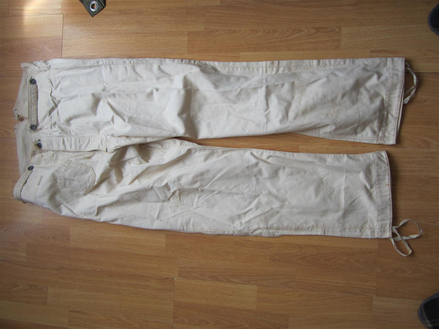 WW1 German Army Work Trousers