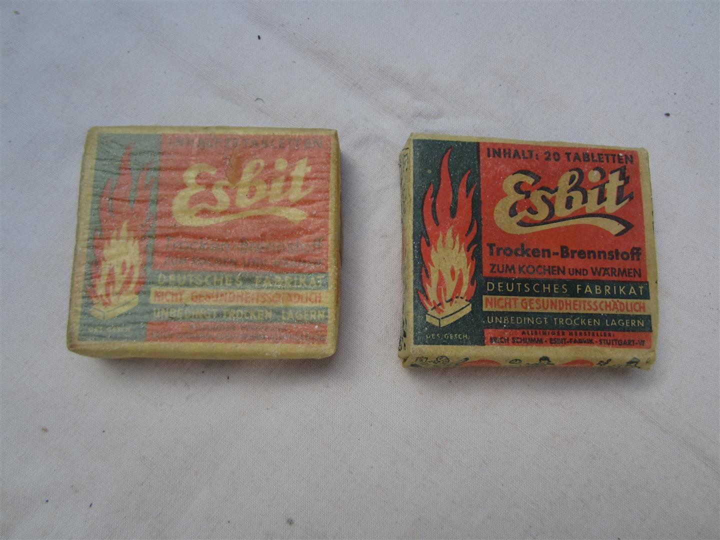 WW2 German Esbit Hexamine Tablets