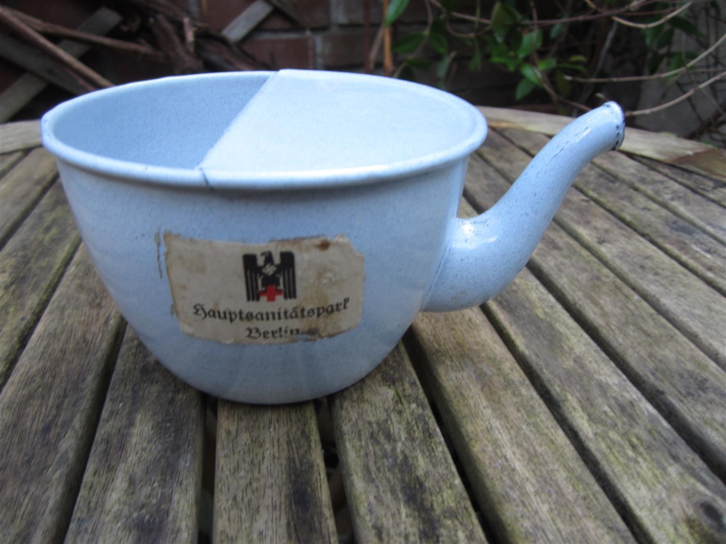 WW2 German Red Cross Hospital Cup