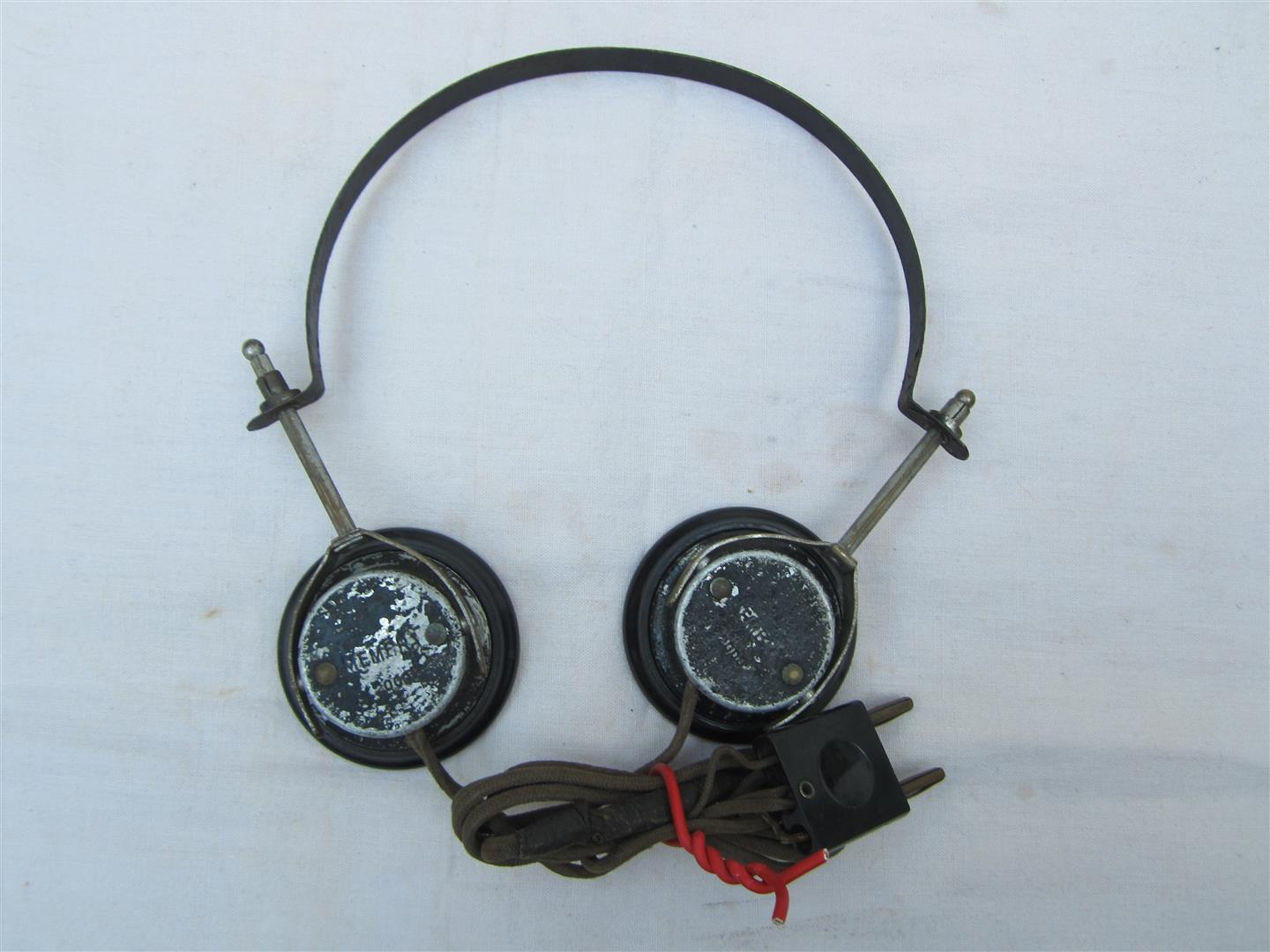 WW2 German WH Radio Headphones