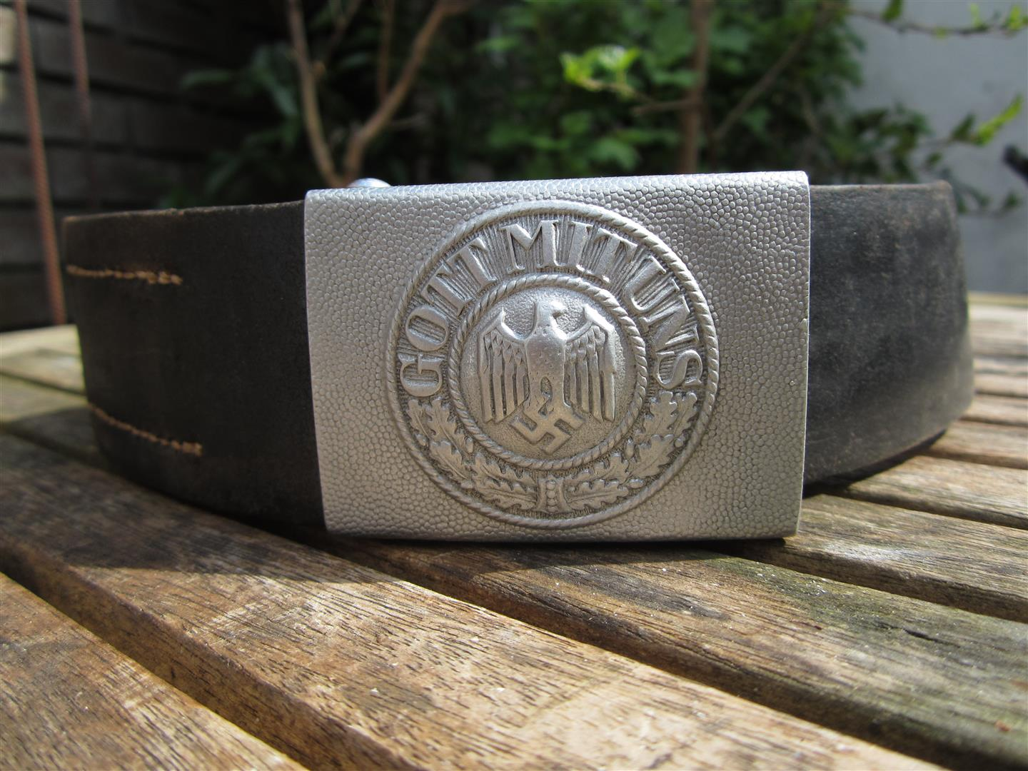 WW2 WH Aluminium Belt & Buckle