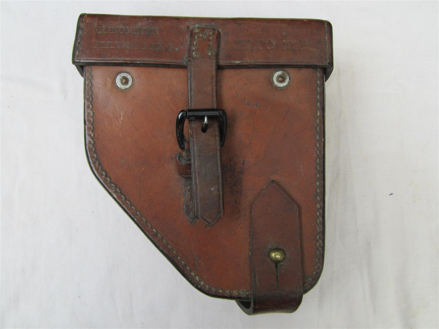 WW2 British Clinometer Pouch