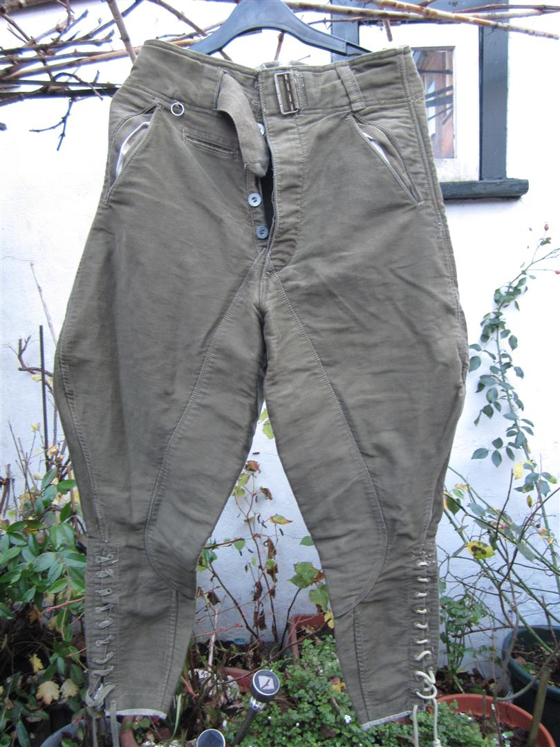 WW2 German DAK Breeches