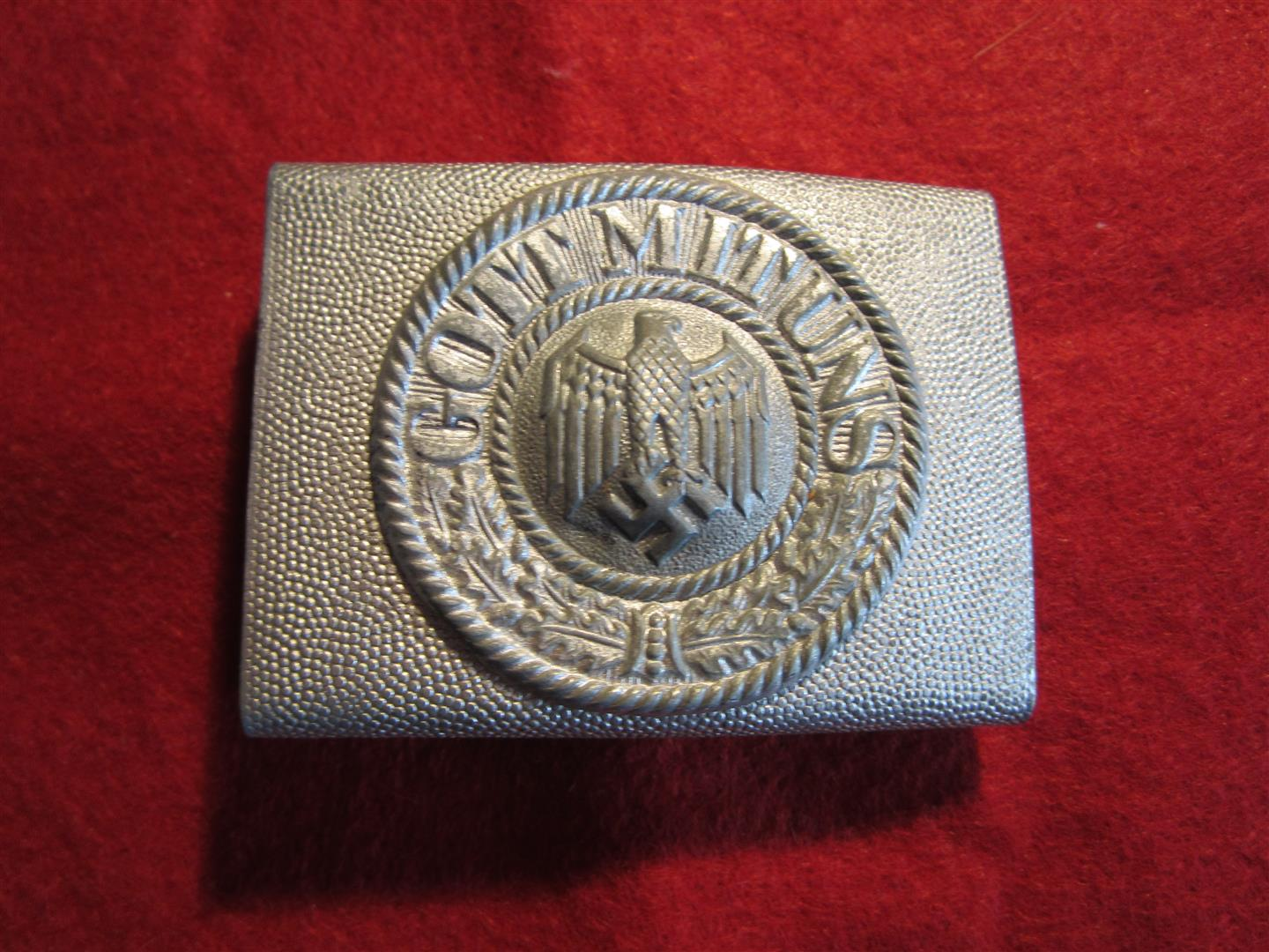 WW2 German Army Parade Belt Buckle