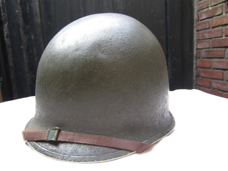 Captain Jacks Militaria Ww2 U S M1 Helmet Complete