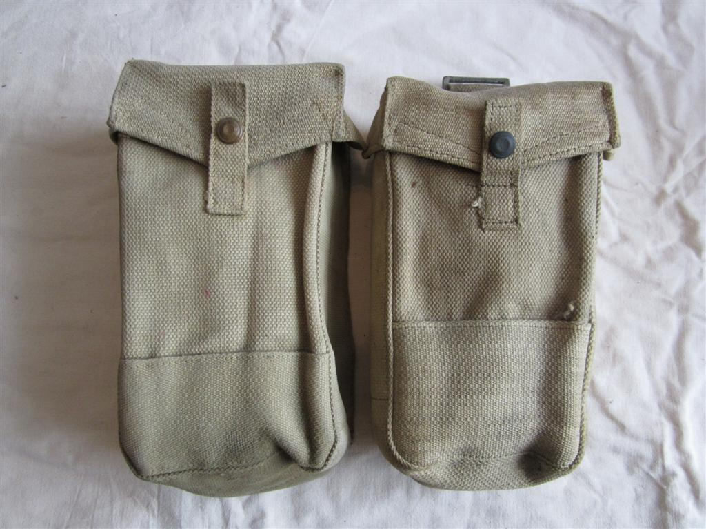 WW2 British Ammo Pouches