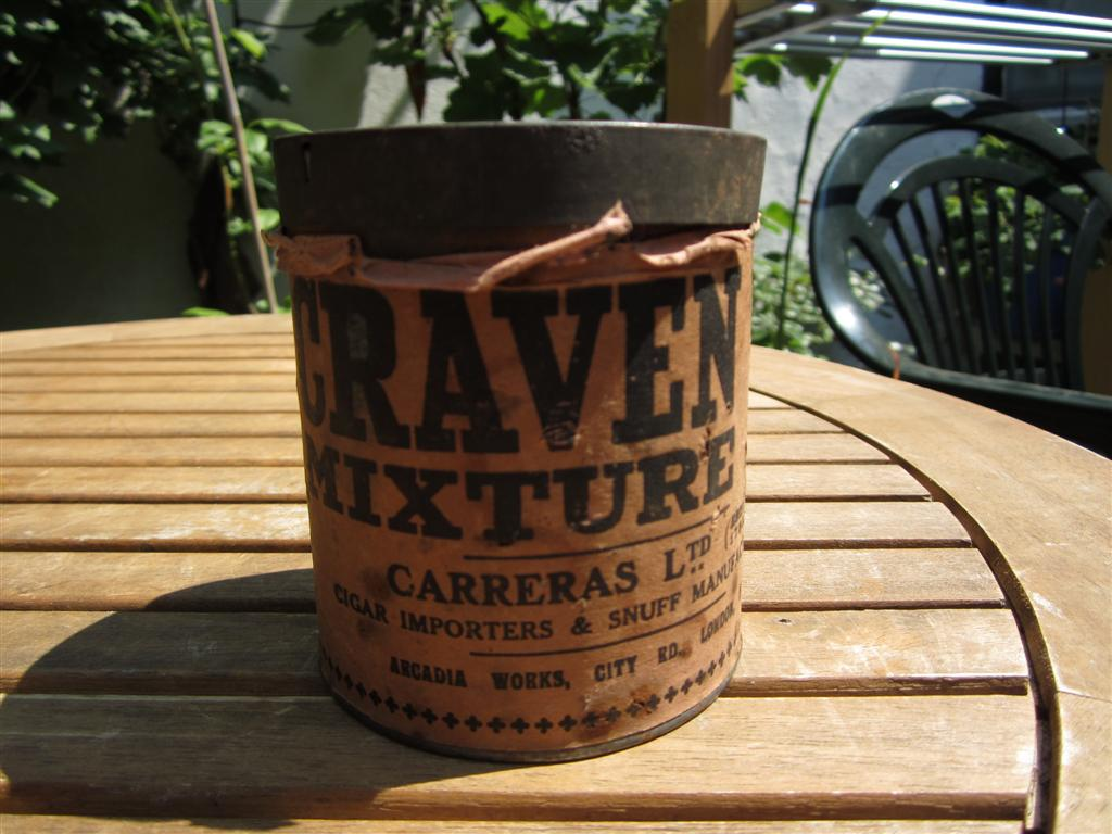 WW2 Period British Tobacco Tin
