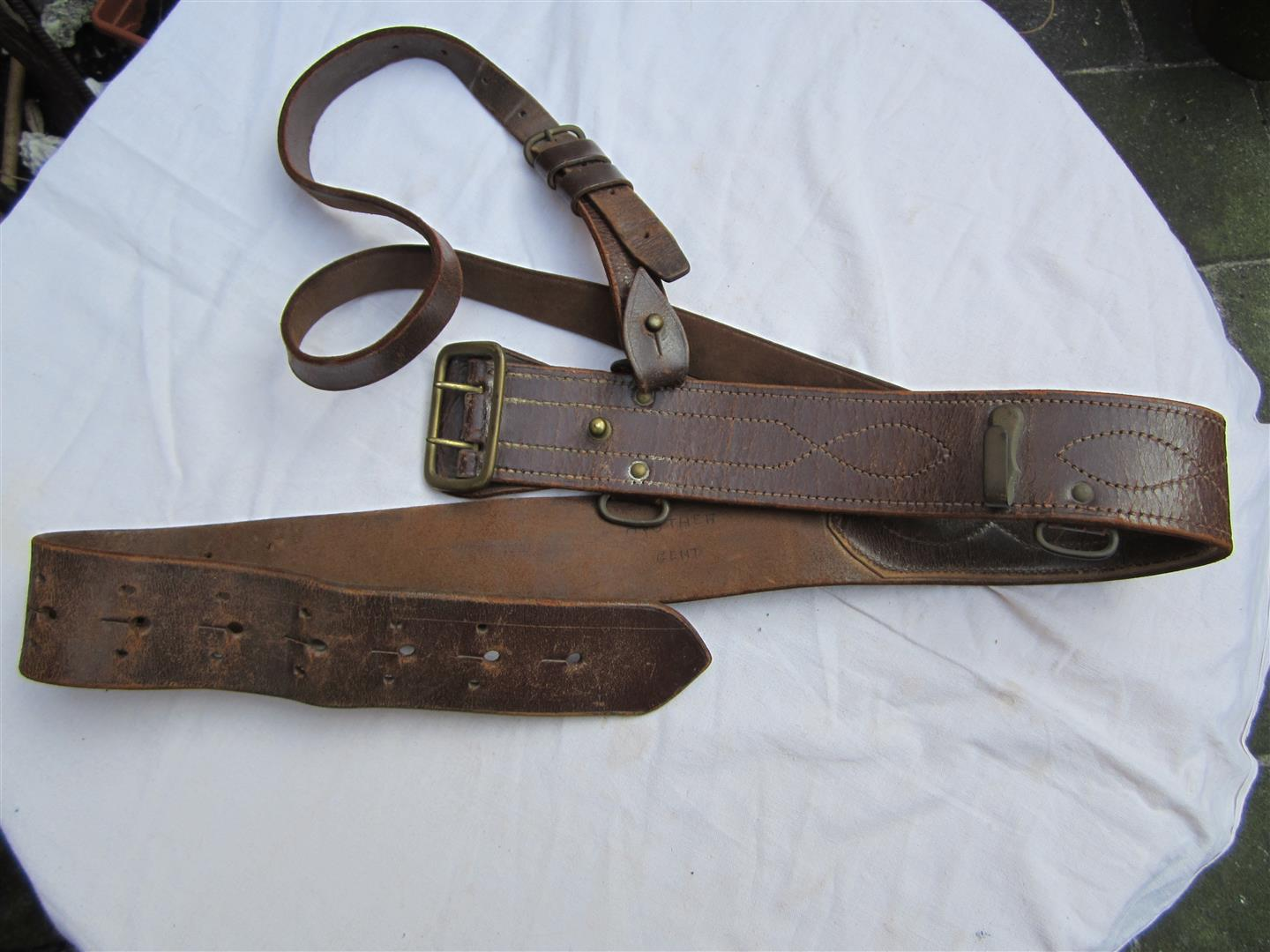 WW2 British Officer's Sam Browne Belt