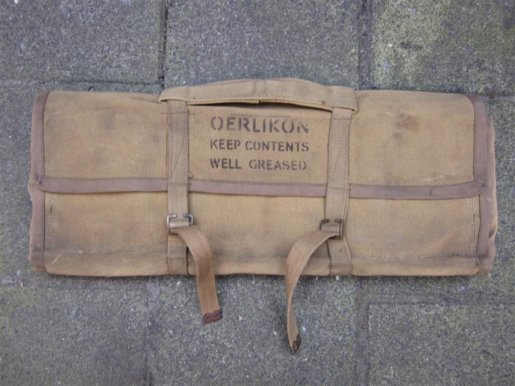 WW2 British Oerlikon Tool Bag