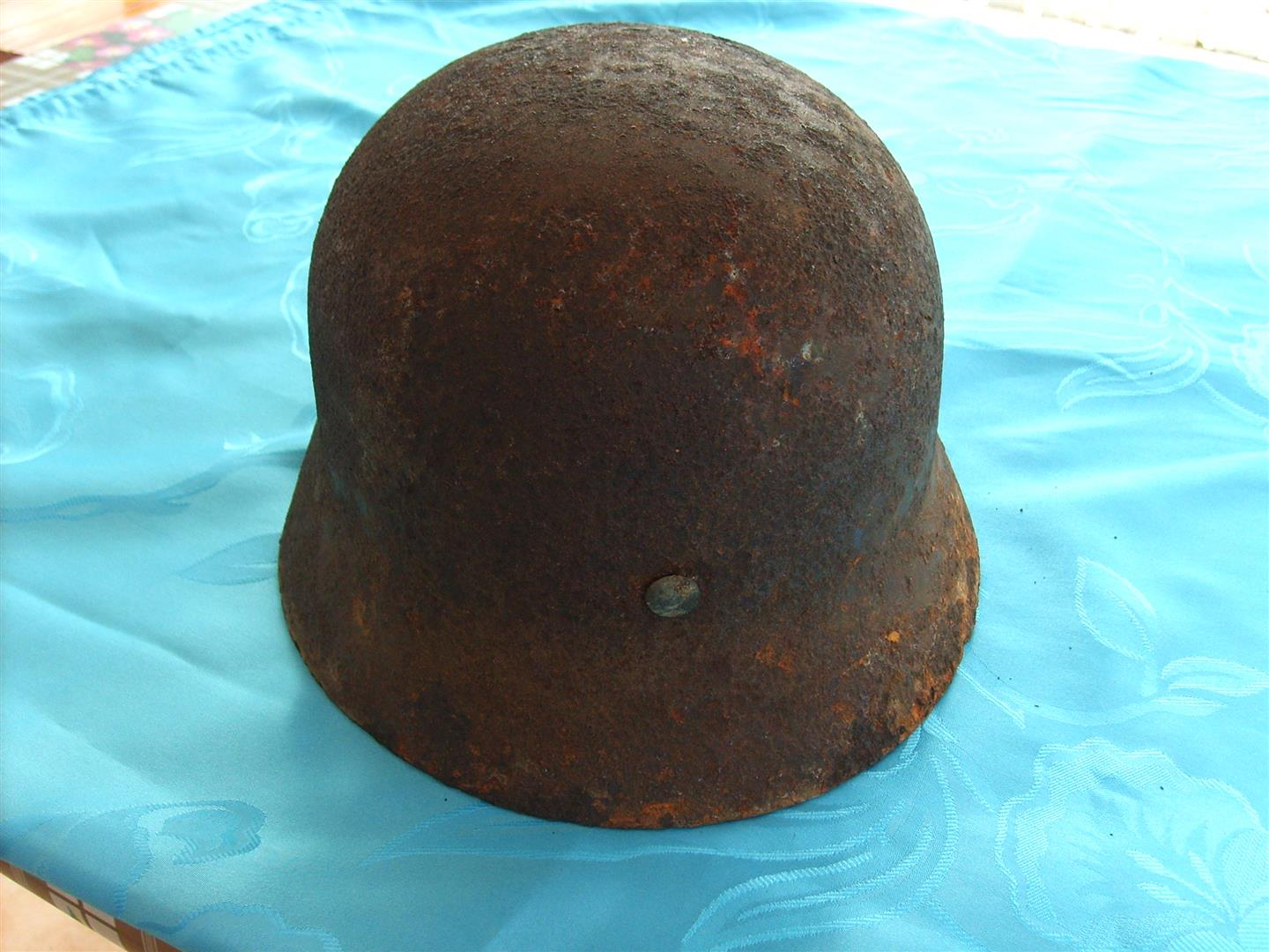 WW2 M35 SS Politzei Double Decal Helmet