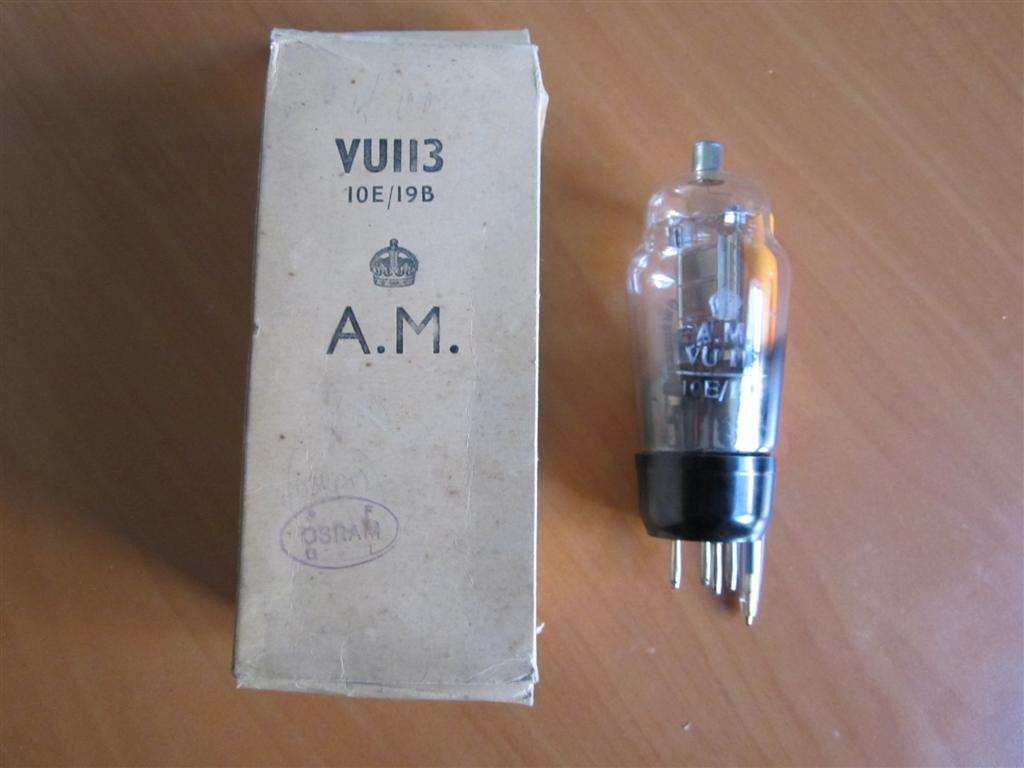 WW2 British Air Ministry Radio Valve